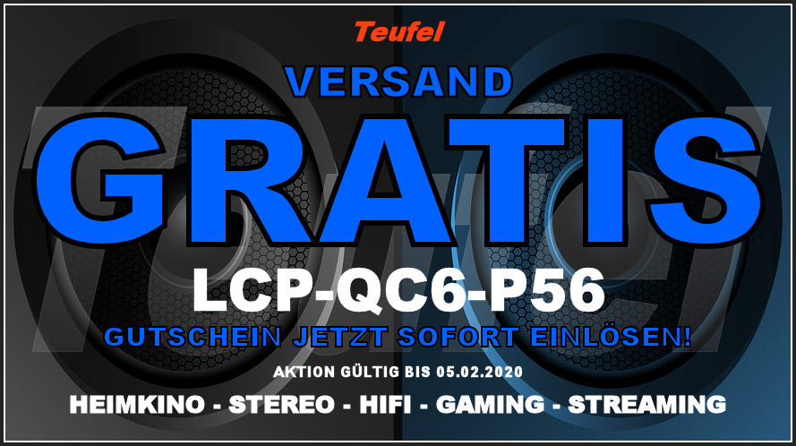 Teufel LCP-QC6-P56 - Gutschein
