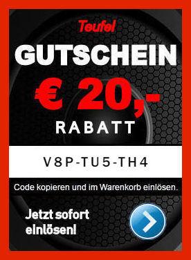 Teufel V8P-TU5-TH4 - Gutschein