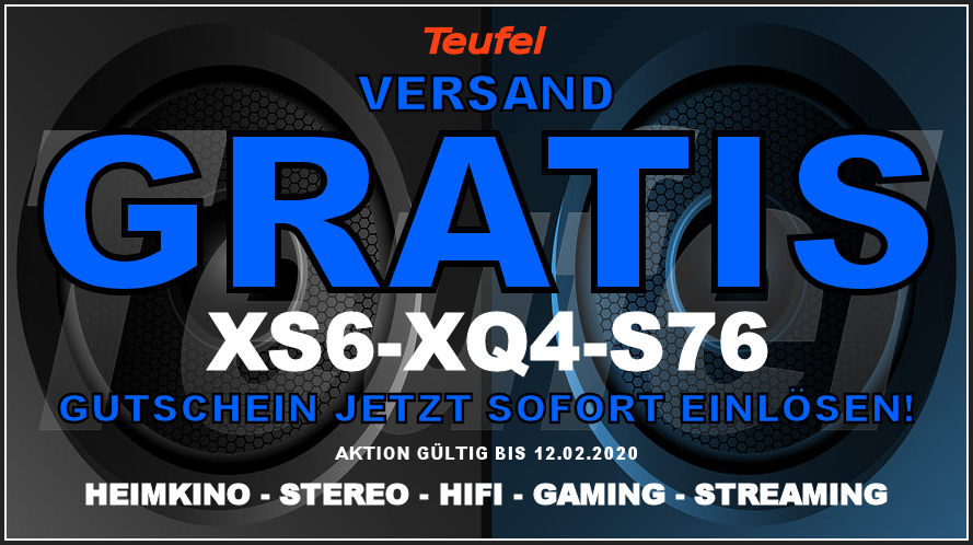 Teufel XS6-XQ4-S76 - Gutschein