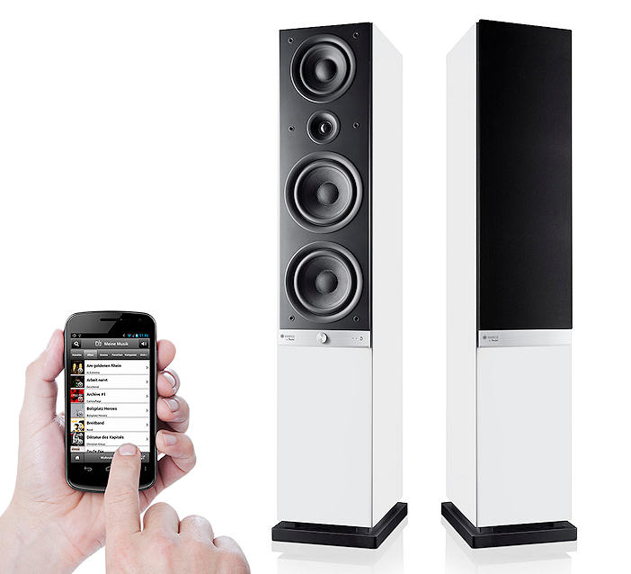 BIANCO COLLECTION: Raumfeld Speaker L - WEISS